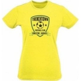 Trenchtown FC (Inspired by Bob Marley) Womens Slim Fit T-Shirt
