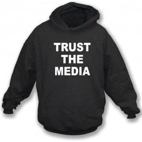 Trust The Media (As Worn By Michael Stipe, R.E.M.) Kids Hooded Sweatshirt