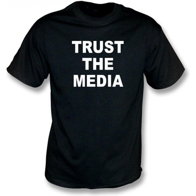 Trust The Media (As Worn By Michael Stipe, R.E.M.) Kids T-Shirt
