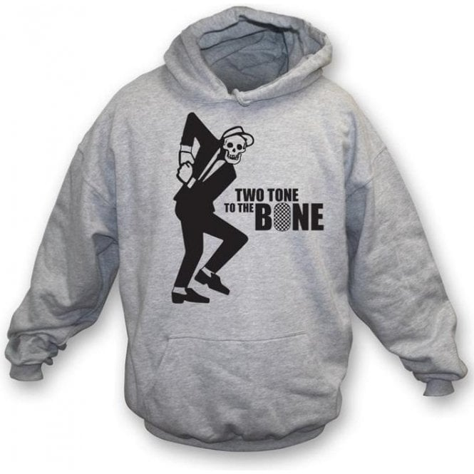 Two Tone To The Bone Hooded Sweatshirt