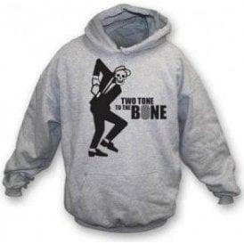 Two Tone To The Bone Hooded Sweatshirt