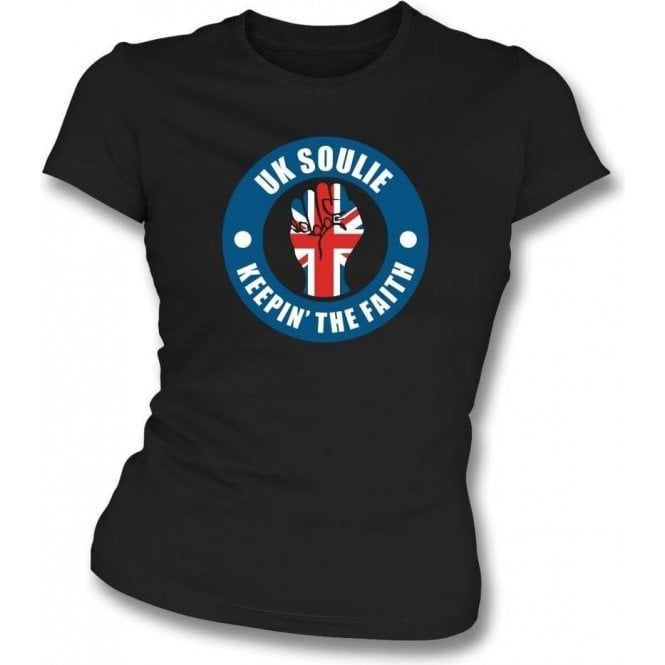 UK Soulie Womens Slim Fit T-Shirt