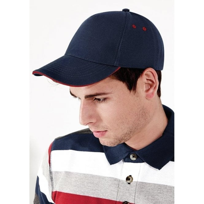 Ultimate 5 Panel Contrast Cap Sandwich Peak