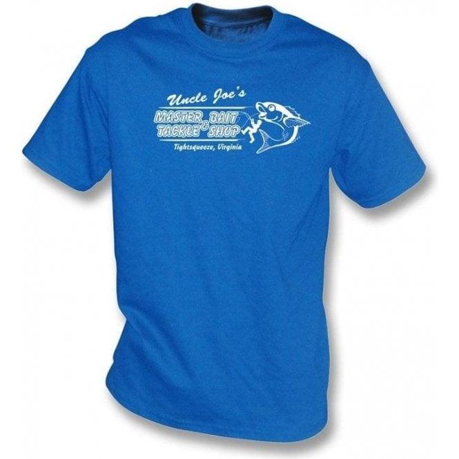 Uncle Joe's Master Bait and Tackle Shop T-shirt