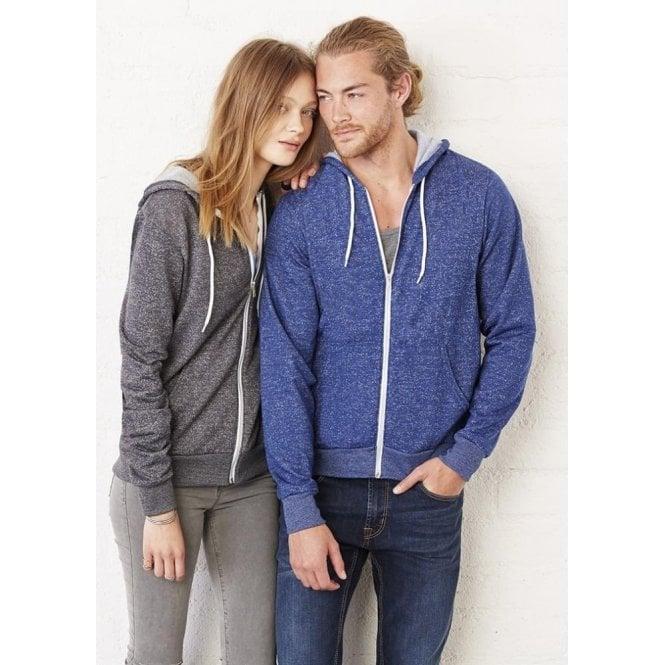 Unisex Poly/Cotton Fleece Full Zip Hoodie