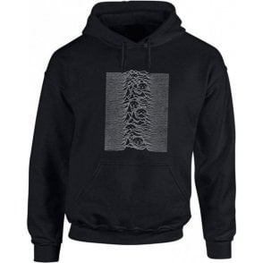 Unknown Pleasures Cat Kids Hooded Sweatshirt