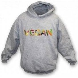 Vegan Foods Kids Hooded Sweatshirt