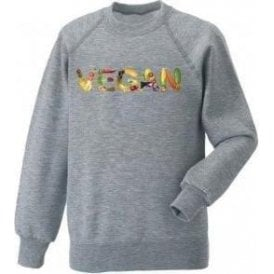 Vegan Foods Kids Sweatshirt
