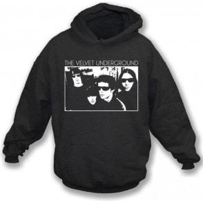 Velvet Underground Band Photo Hooded Sweatshirt