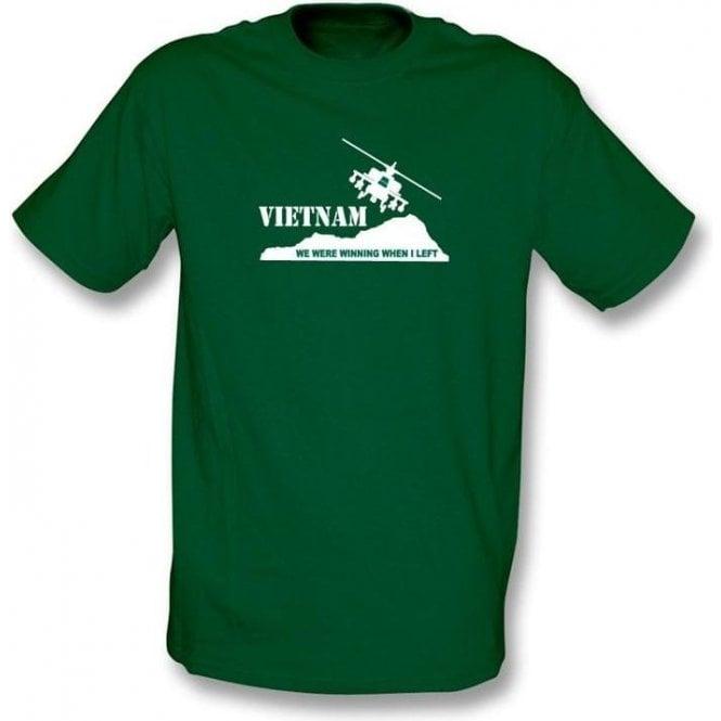 Vietnam - We were winning  when I left t-shirt