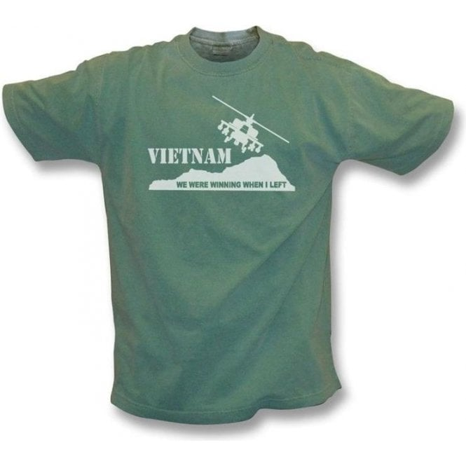 Vietnam - We were winning when I left Vintage Wash t-shirt