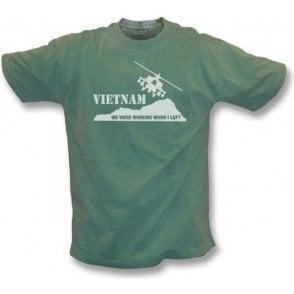 Vietnam - We were winning when I left Vintage Wash t-shirt