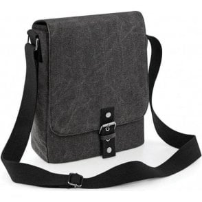 Vintage Canvas iPad/Tablet Reporter Bag