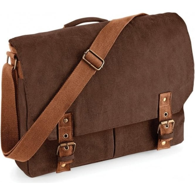 Vintage Canvas Satchel Messenger Bag