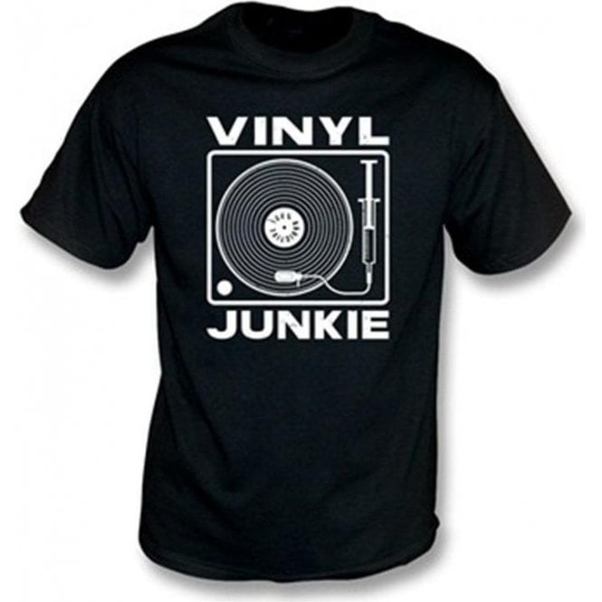 Vinyl Junkie Children's T-shirt
