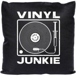 Vinyl Junkie Cushion