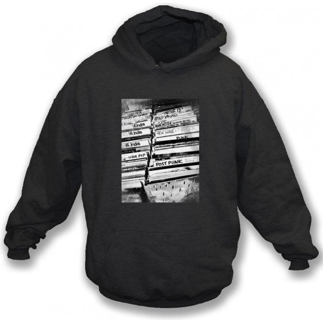 Vinyl Record Shop Hooded Sweatshirt