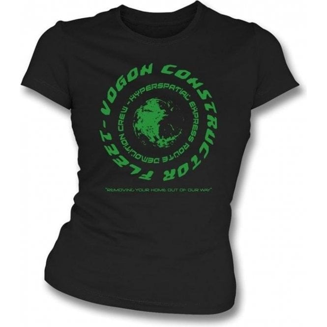 Vogon (Inspired by Hitchhikers Guide To The Galaxy) Girl's Slim-Fit T-shirt