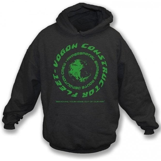 Vogon (Inspired by Hitchhikers Guide To The Galaxy) Hooded Sweatshirt