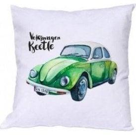 Volkswagen Beetle (Green Car) Cushion