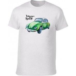 Volkswagen Beetle (Green Car) T-Shirt