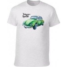 Volkswagen Beetle (Green Car) T-Shirt