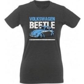 Volkswagen Beetle Womens Slim Fit T-Shirt