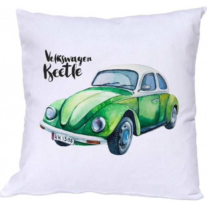 Volkswagen Bettle (Green Car) Cushion