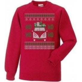 VW Camper Ho Ho Ho Kids Christmas Jumper