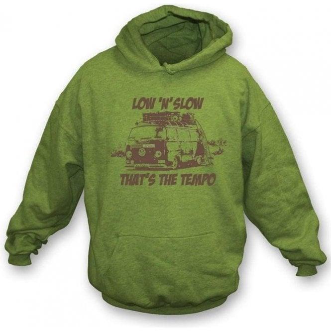 VW Camper Van Low 'N' Slow Hooded Sweatshirt