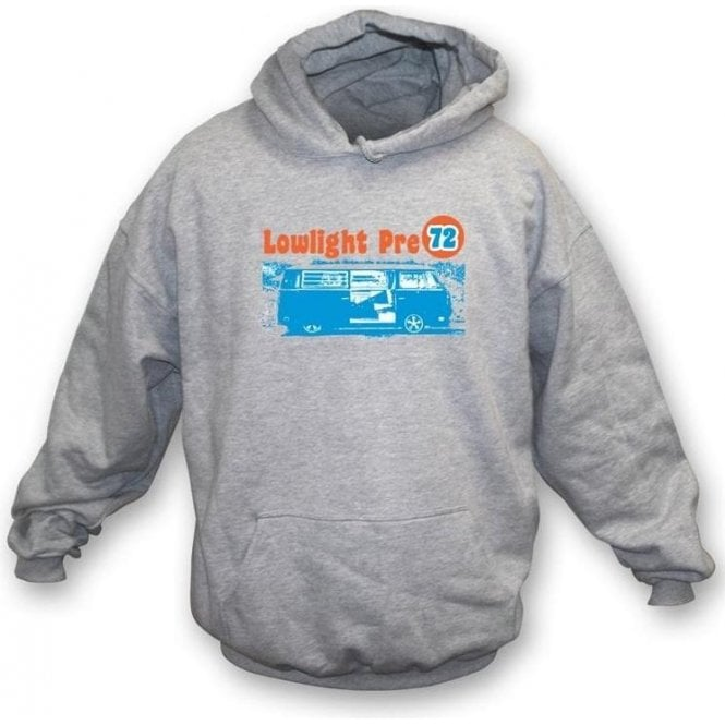 VW Camper Van Lowlight Pre 72 Hooded Sweatshirt