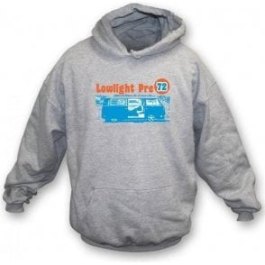 VW Camper Van Lowlight Pre 72 Hooded Sweatshirt