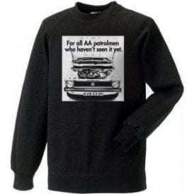 VW Golf AA Patrolman Advert Kids Sweatshirt
