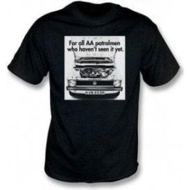 VW Golf AA Patrolman Advert T-Shirt