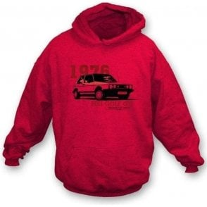 VW Golf MK 1 Hooded Sweatshirt