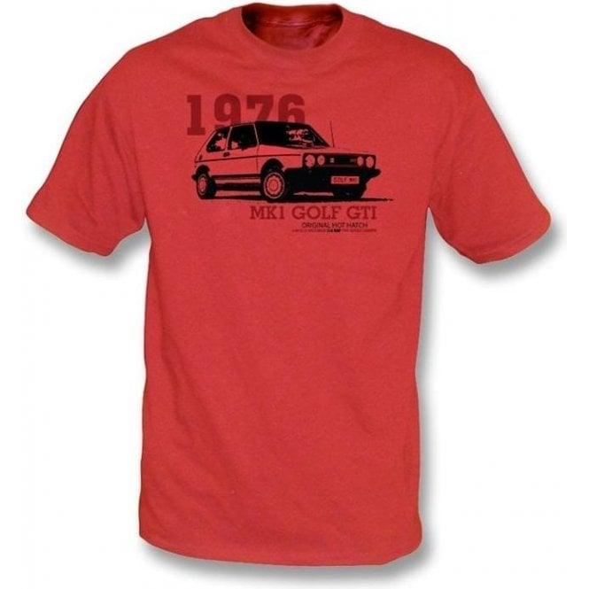 VW Golf MK 1 T-shirt
