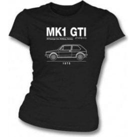 VW MK1 GTI Womens Slim Fit T-Shirt