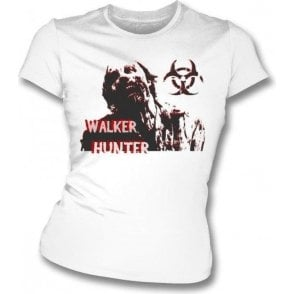 Walker Hunter (Inspired by The Walking Dead) Womens Slim Fit T-Shirt