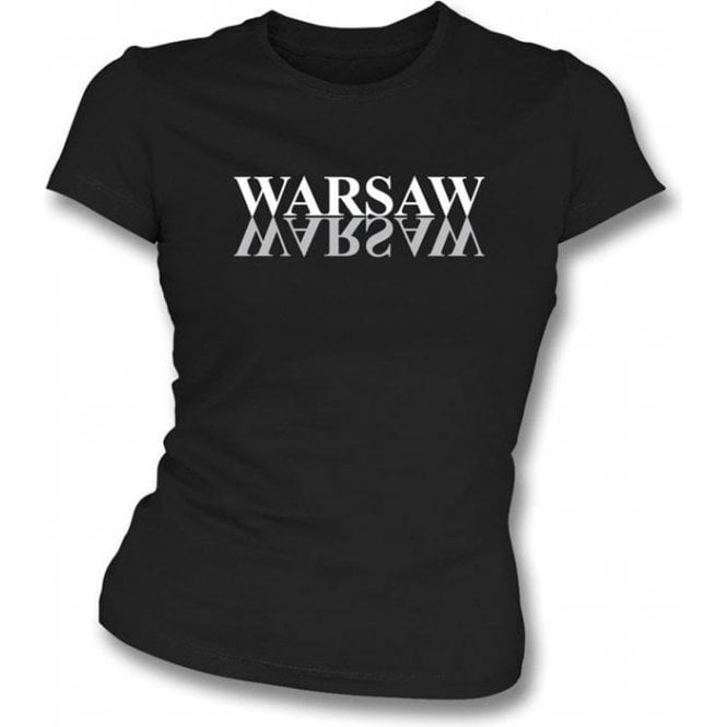 Warsaw (Joy Division) - Girl's Slim-Fit T-shirt