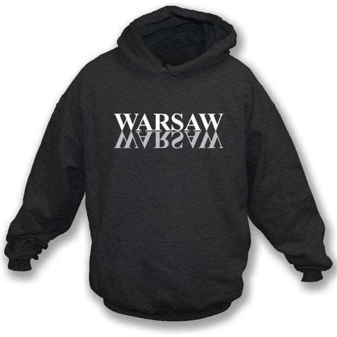 Warsaw (Joy Division) - hooded sweatshirt