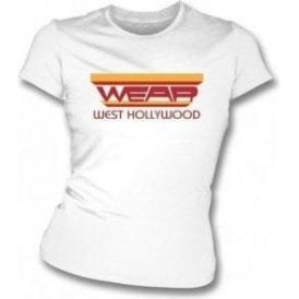 Wear, West Hollywood (As Worn By Freddie Mercury, Queen) Womens Slim Fit T-Shirt