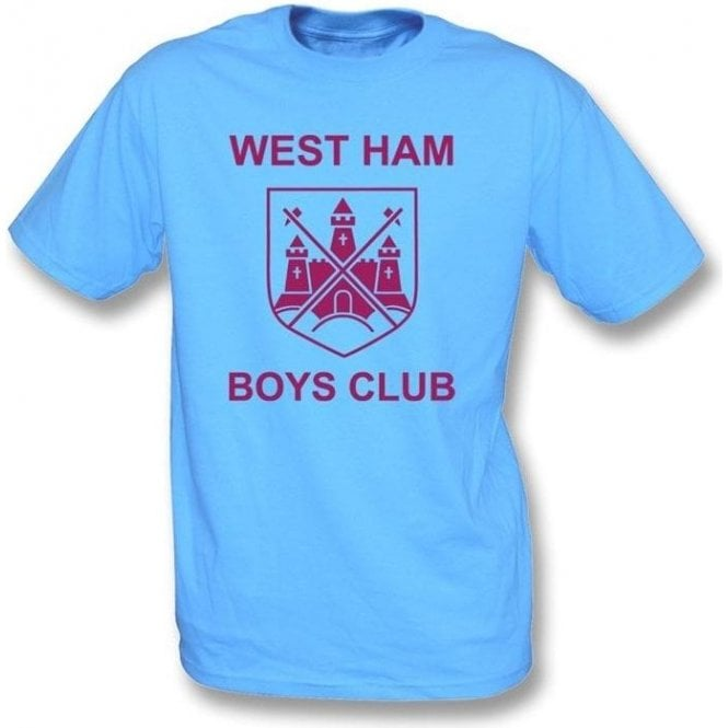 West Ham Boys Club (As Worn By Morrissey, The Smiths) T-Shirt