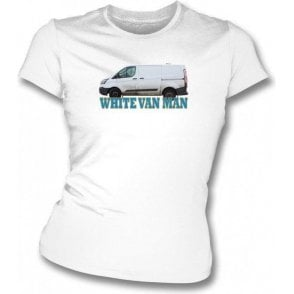 White Van Man Womens Slim Fit T-Shirt