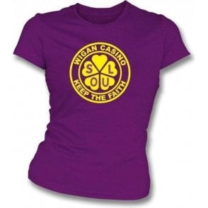Wigan Casino - Faith Girl' Slim-Fit T-shirt