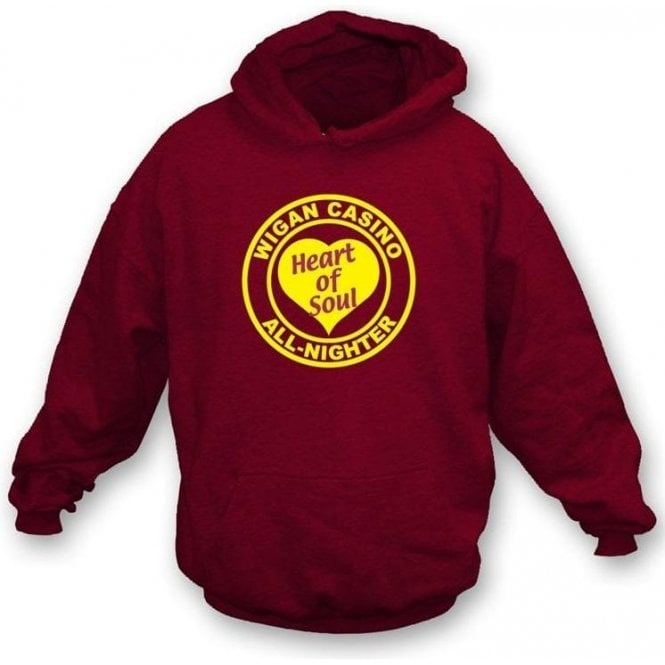 Wigan Casino - Heart of Soul Hooded Sweatshirt