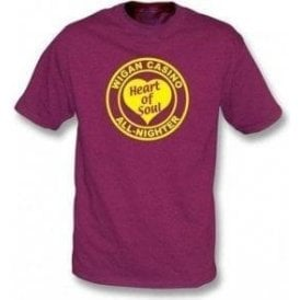Wigan Casino - Heart of Soul t-shirt