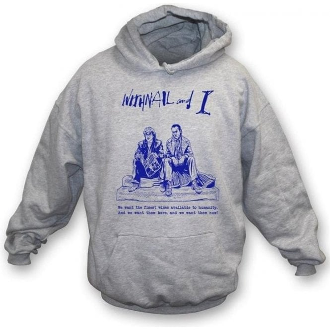 Finest Wines (Inspired by Withnail and I) Hooded Sweatshirt