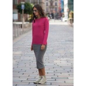 Women's Long Sleeve Stretch T-Shirt