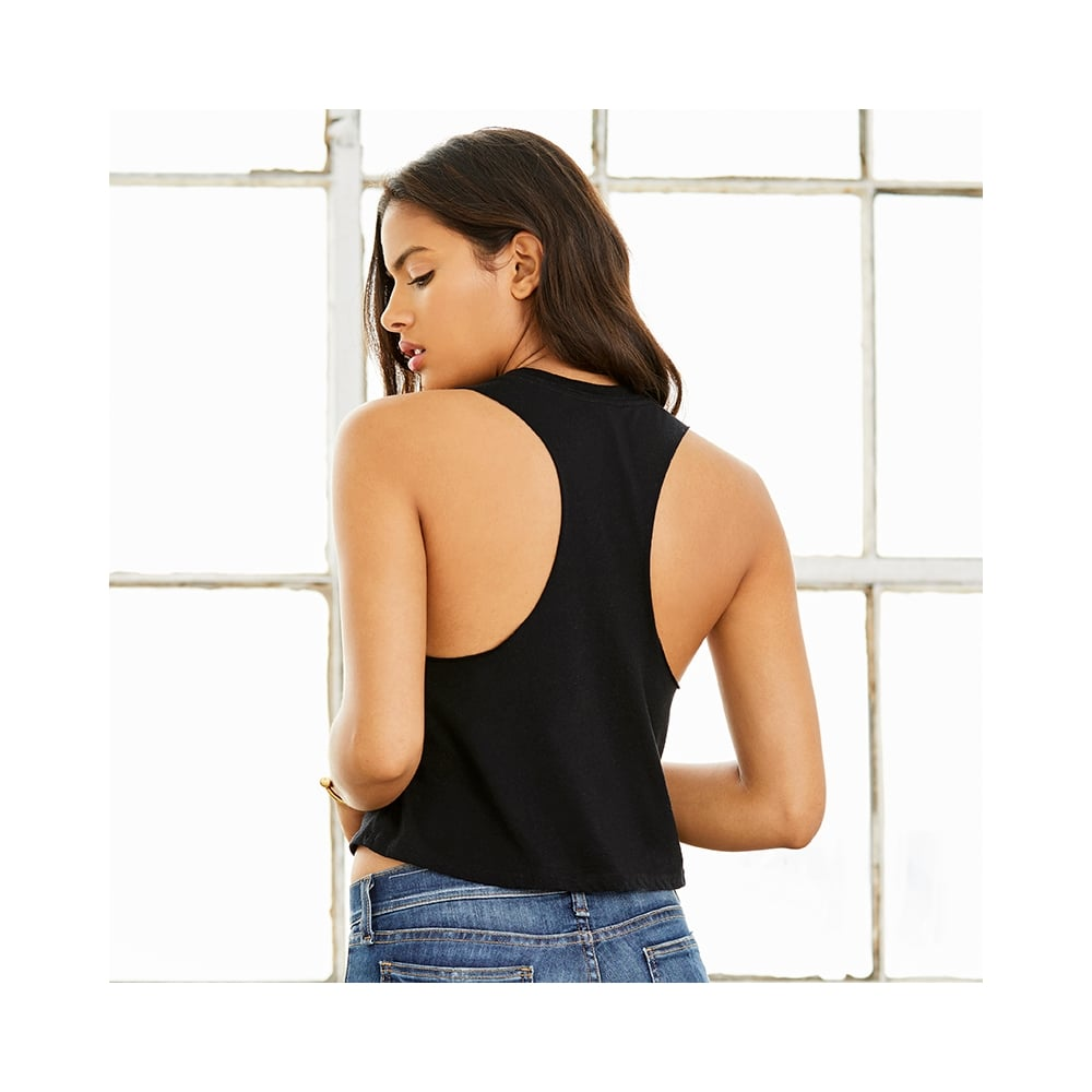 d71f44941020e Women s Racerback Cropped Tank Top - from TShirtGrill UK