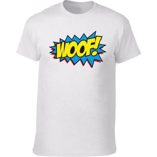 Woof Comic Bubble T-Shirt